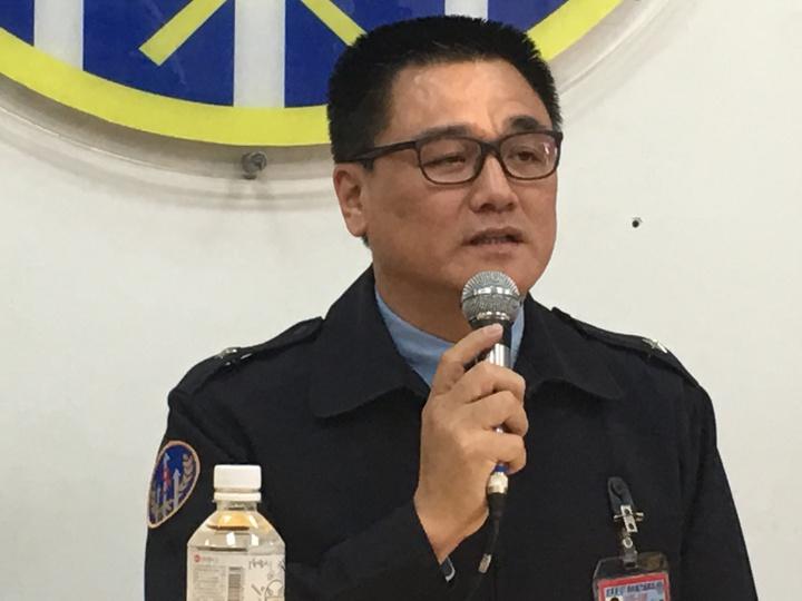 聯隊長王德陽自請處分。記者陳秋雲/攝影
