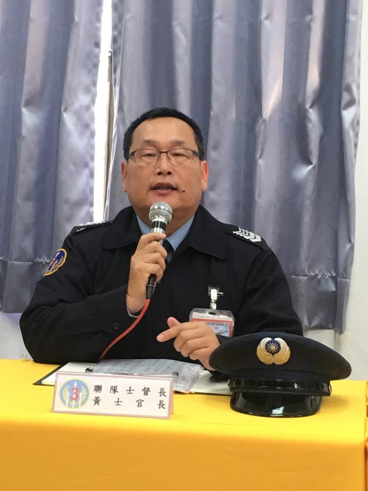 黃姓士官長否認與主官不合。記者陳秋雲/攝影