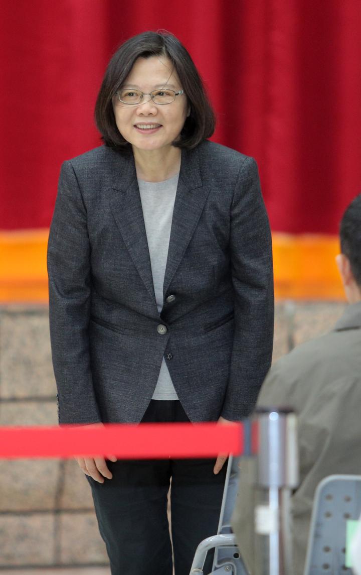 總統府南辦啟用,蔡英文總統表示兌現選前承諾。記者劉學聖/攝影