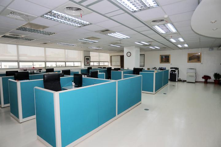 總統府南辦設在高雄鳳山行政中心,裡面的擺設尚未更動。記者劉學聖/攝影