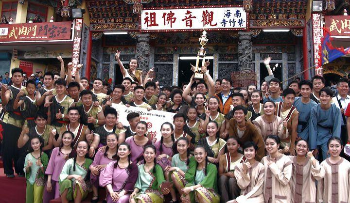 全國創意宋江大賽今年由台南大學三連霸。記者王昭月/攝影