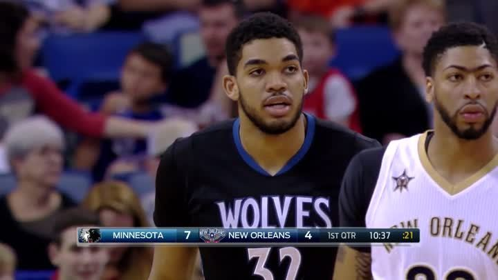 焦點球員- Karl-Anthony Towns (3月20日)