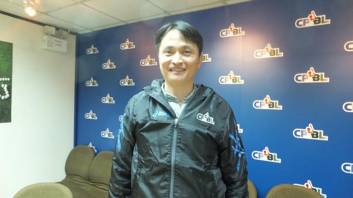 中華職棒新任秘書長馮勝賢正式上任,希望打造更進步的環境。記者藍宗標/攝影
