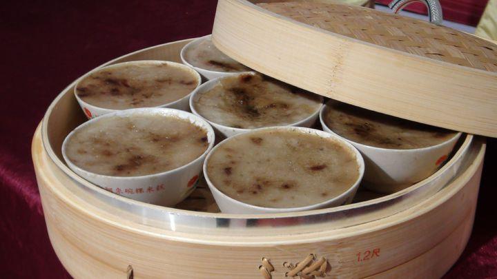 「阿來碗粿企業社」的產品保有樸素的古早味。記者王慧瑛/攝影