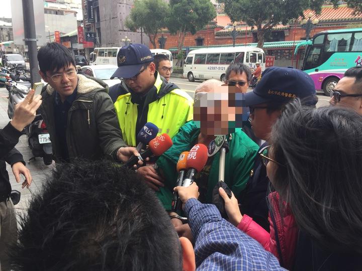涉嫌傷人的林姓男子。記者許家瑜/攝影