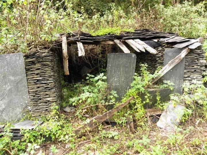 文化部文資局宣布展開舊好茶石板屋聚落的10年修復計畫。圖/文化處提供