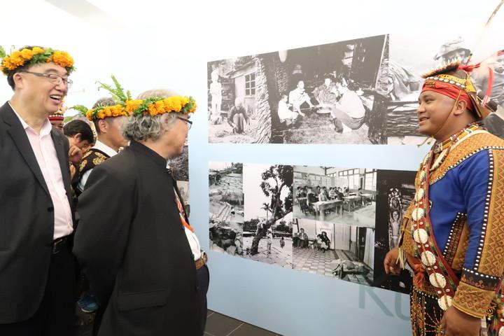 文化部今在好茶部落舉辦文化遺產守護活動,部落更有珍貴影像資料展,一展舊好茶的時光。記者翁禎霞/攝影