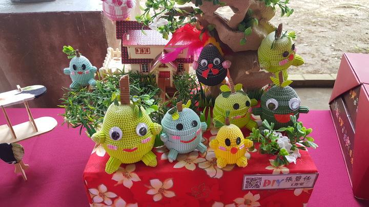 今年柚花藝術節安排多項手作DIY活動。記者胡蓬生/攝影