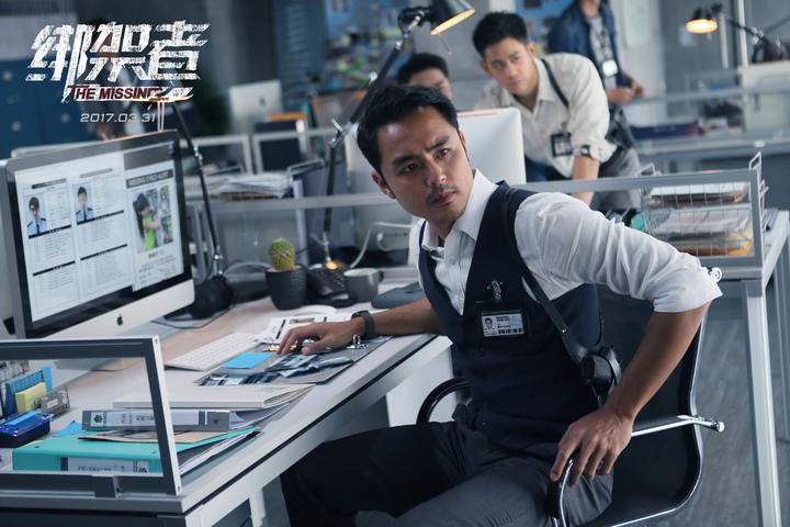 明道在「綁架者」中飾演重案組組長。圖/明道工作室提供