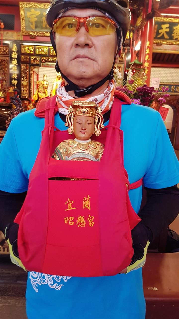 宜蘭昭應宮供奉的媽祖。記者吳佩旻/攝影