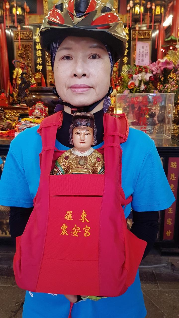 羅東震安宮供奉媽祖。記者吳佩旻/攝影