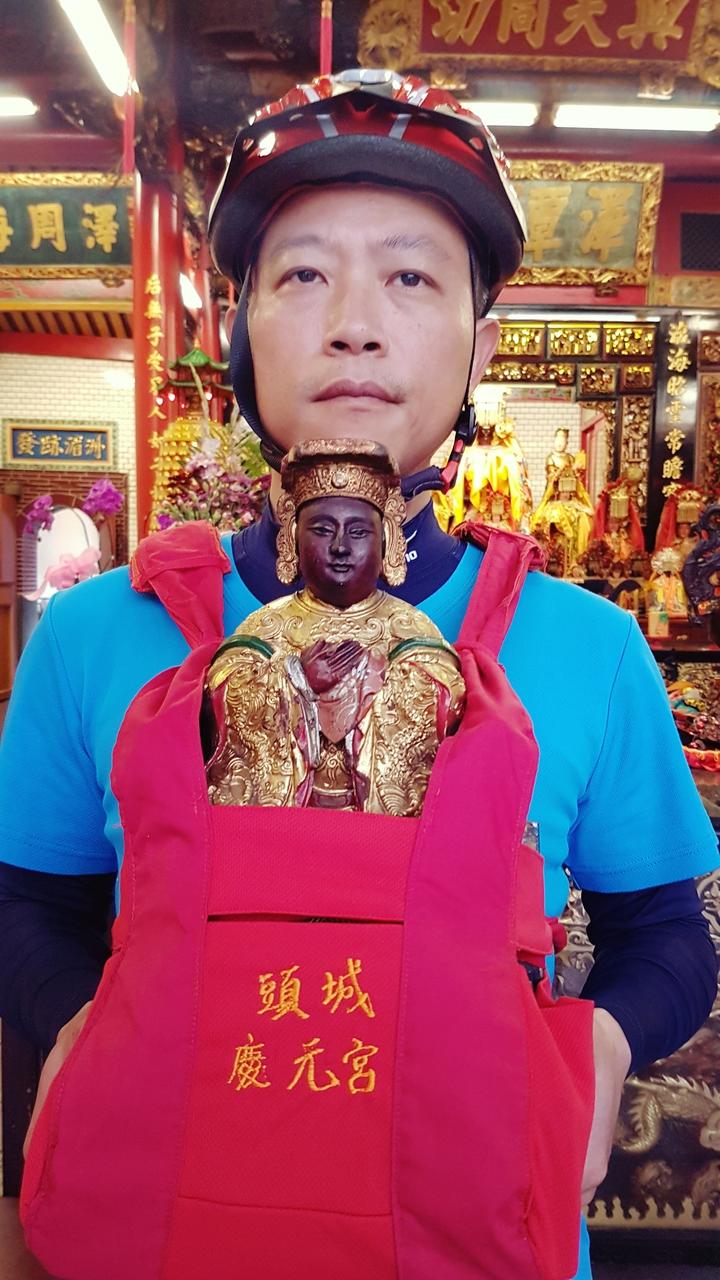 頭城慶元宮供奉的媽祖。記者吳佩旻/攝影
