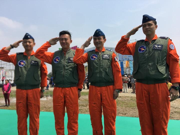 新竹市「風的運動場」,空軍499聯隊也支持。記者蔡昕穎/攝影
