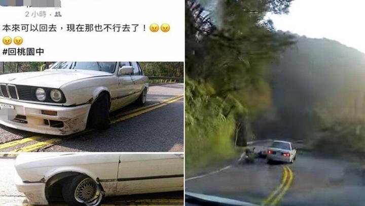 BMW車主同行友人表示雙方都有錯。記者江孟謙/翻攝