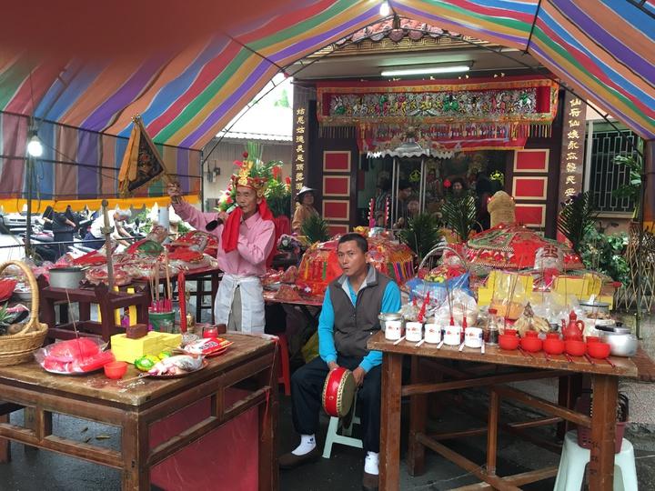 台南市新化區「仙姑娘媽廟」廟不大,但在信徒眼中很「靈驗」。記者吳淑玲/攝影
