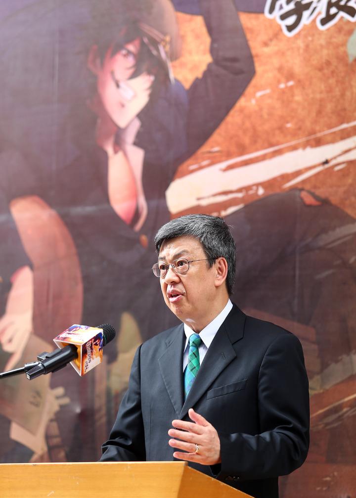 副總統陳建仁上午出席由台灣師範大學所主辦的「台北高等學校創校95 週年」慶祝活動。記者杜建重/攝影