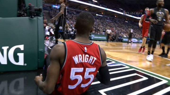 今日最佳動作- Delon Wright (4月21日)