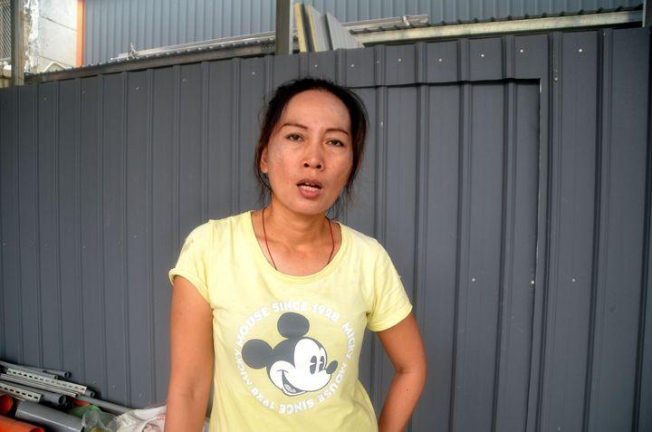 小燈泡凶嫌一審逃死刑,台南湯姆熊男童遭割喉命案被害人家屬方珮綺痛斥,台灣早廢死了。記者邵心杰/攝影