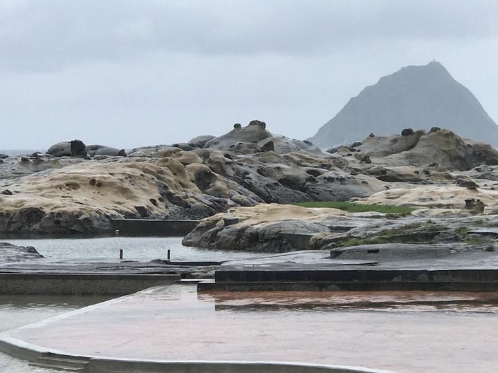 和平島公園戲水區整建完成。記者吳淑君/攝影