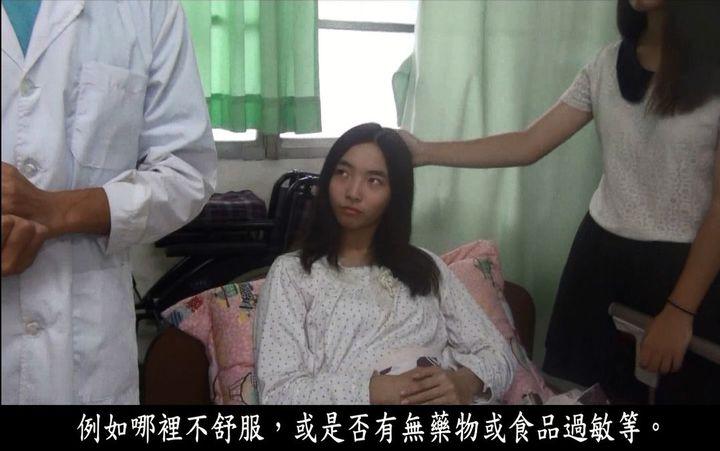 吳芝穎自製微電影並參與演出。圖/陳羽庭提供
