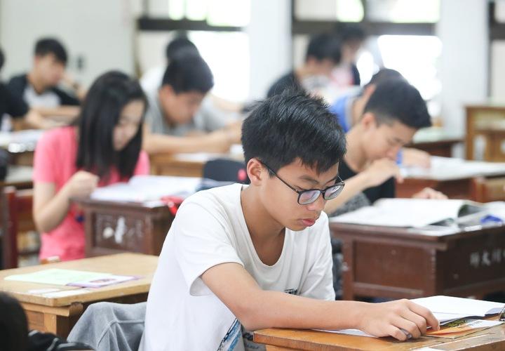 國中教育會考今、明兩天登場。記者黃威彬/攝影