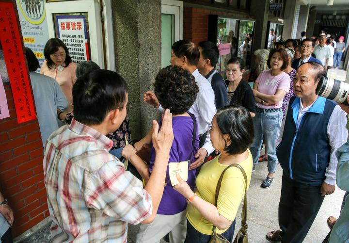 中國國民黨主席選舉今天舉行。記者鄭清元/攝影