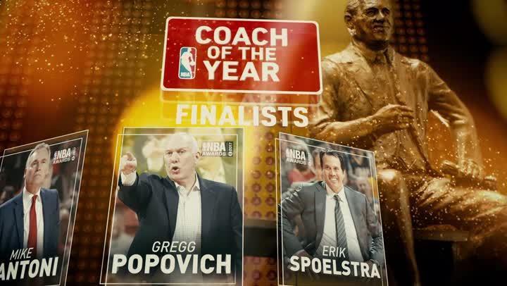 年度最佳教練候選名單(2016-17賽季)