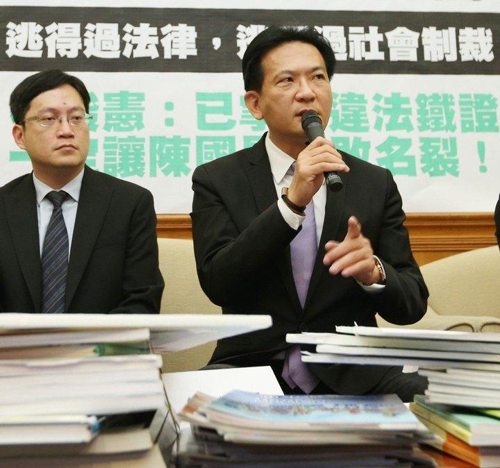 立委林俊憲。本報資料照片
