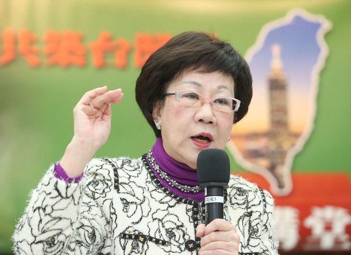 前副總統呂秀蓮。圖/聯合報系資料照