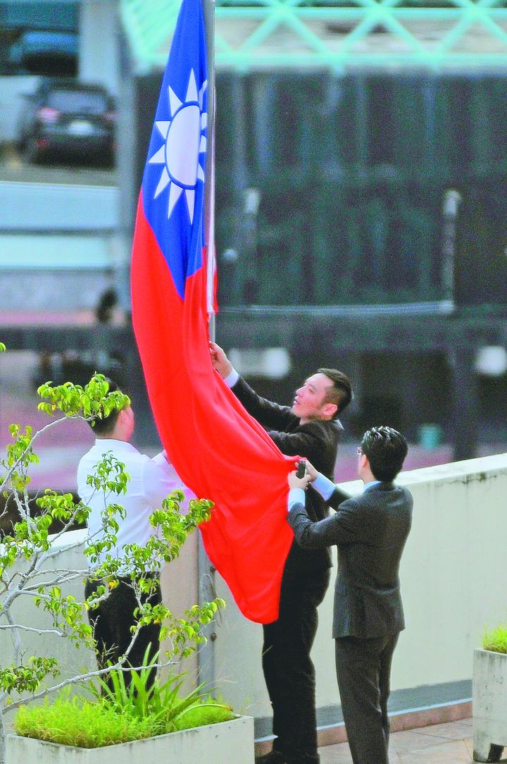 中華民國駐巴拿馬大使館14日降旗閉館。歐新社資料照