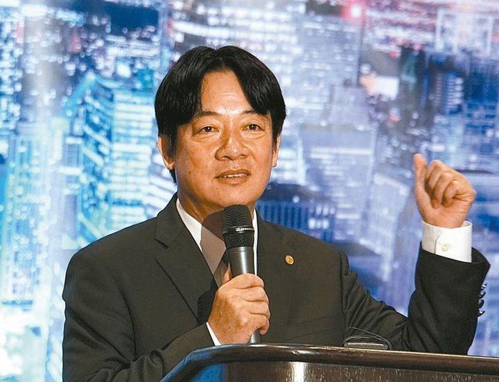 台南市長賴清德應邀到北美洲台商聯合總會年會演講。 圖/台南市政府提供