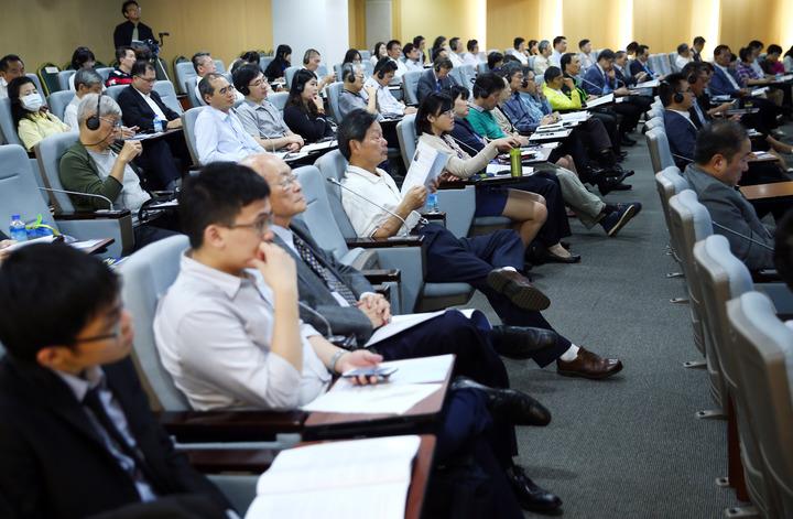 第一屆台北PPP論壇上午在台北舉行。記者杜建重/攝影