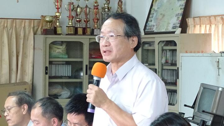 農委會副主委黃金城說,研判台灣鯛死亡高峰期已過。記者謝進盛/攝影