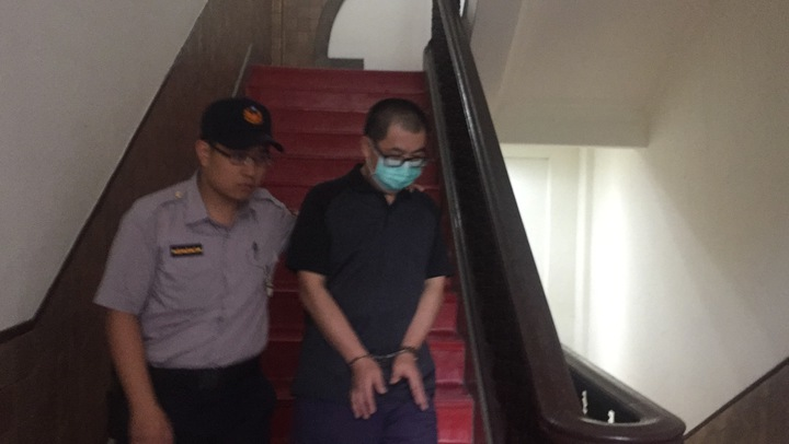 三重縱火釀六死,湯景華稱長腫瘤求交保。記者賴佩璇/攝影。