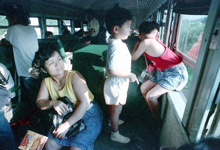 台鐵淡水支線又稱北淡線,是早期自台北往返淡水的重要交通路線。圖/聯合報系資料照片