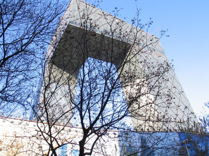 習近平發表談話後,像「大褲叉」中央電視台這樣的國際前衛建築,已在大陸一線城市銷聲匿跡。記者陳宛茜/攝影