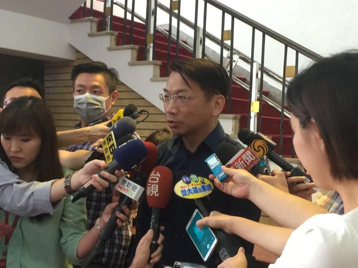 時代力量黨團總召徐永明表示,希望趕快解決召委人選爭議,進入實質審查程序。記者許家瑜/攝影