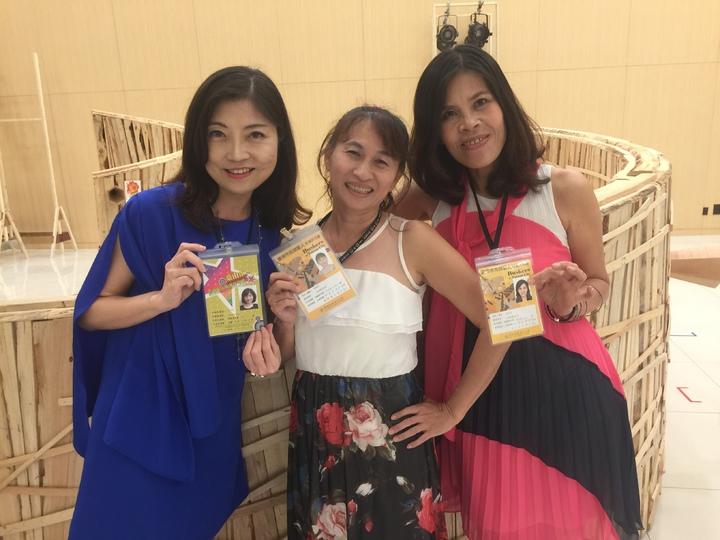 金蘭3姐妹李岱霖、黃淑芬、魏春菊(左起)。記者吳政修/攝影