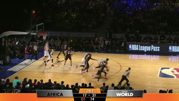 2017非洲賽- 世界隊vs.非洲隊