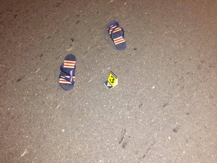 今日稍早在大肚區遊園路上,發生持刀傷人意外。圖/消防局提供