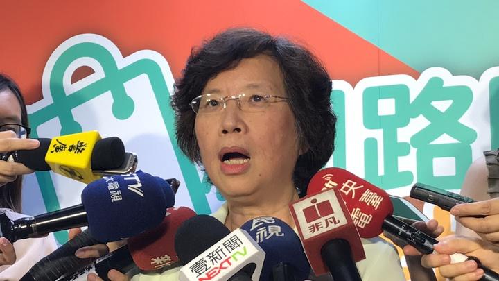 中華郵政公司副總經理王淑敏指出,中華郵政擔任第三方支付的角色,鼓勵大家用本土VISA卡,後續也可能會與微信合作。記者王思慧/攝影