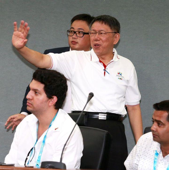 台北市長柯文哲。聯合報系資料照/記者黃義書攝影