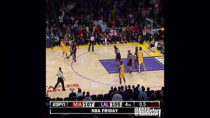 歷史回顧- Kobe Bryant對戰聯盟各隊最佳好球