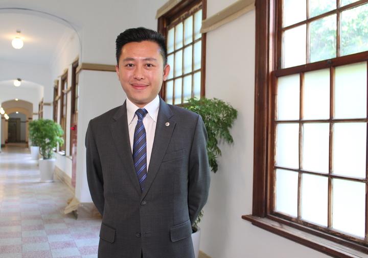 「2017縣市首長施政滿意度調查」,新竹市長林智堅施政滿意度為83.8%,獲從去年第10名爬升至第3名。記者張雅婷/攝影