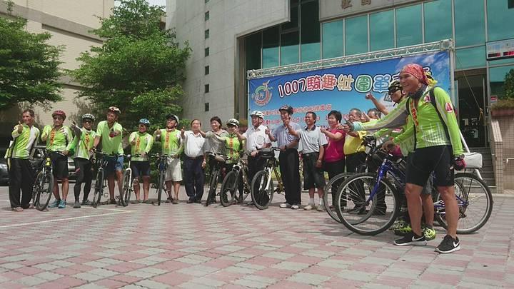 宜蘭縣壯圍鄉公所把濱海景點串連,推出17公里的「1007騎趣壯圍  自行車路線」,今天邀民眾同遊。記者羅建旺/攝影