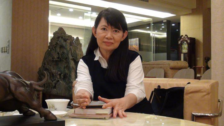立委陳明文妻子廖素惠說,她對縣長張花冠提告的權利和主張表示尊重,但也感到不解。記者王慧瑛/攝影
