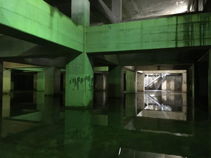 台北市文山區長期飽受淹水困擾,「辛亥路憲兵營區停車場滯洪池」今天正式啟用,市長柯文哲出席竣工典禮。記者張世杰/攝影