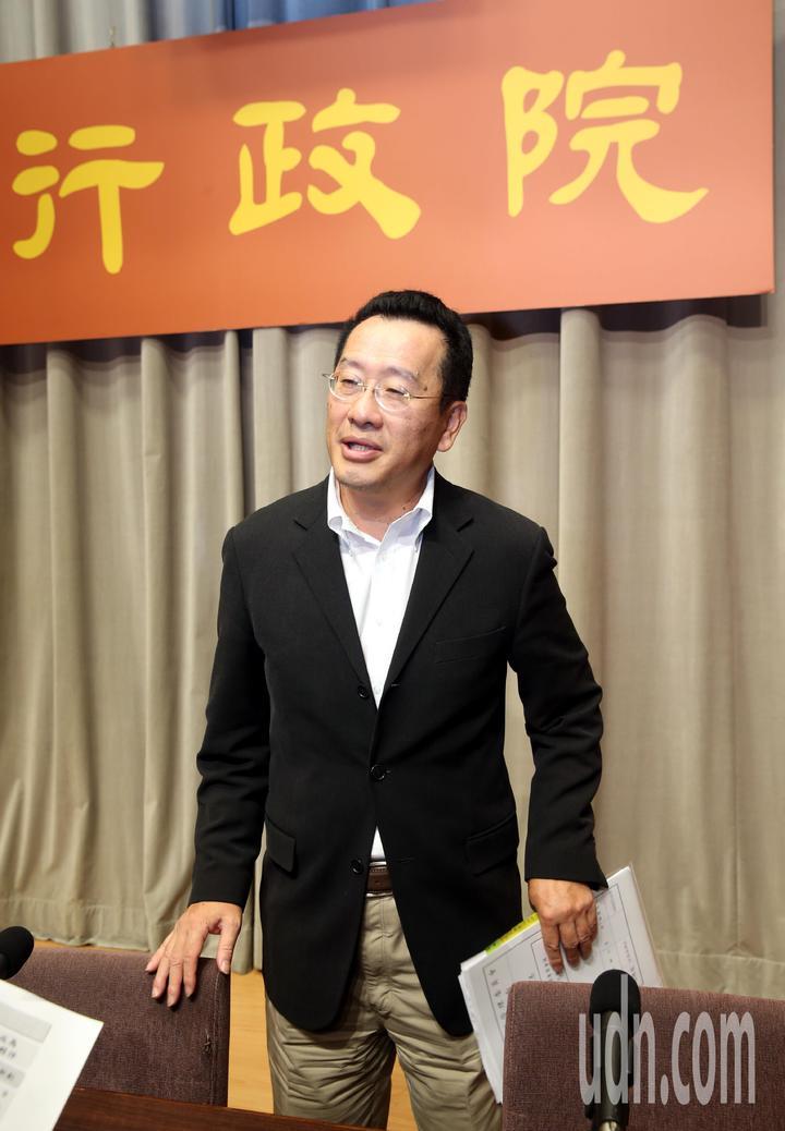 行政院今天舉行加速投資台灣第四次會議說明法規鬆綁成果,對獵雷艦案調查進度,金管會主委顧立雄表示已分案調查,進度最快的一銀年底前就會有結果。記者邱德祥/攝影