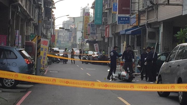 屏東市槍擊案,警方鎖定一名男子,正全力追緝。記者翁禎霞/攝影
