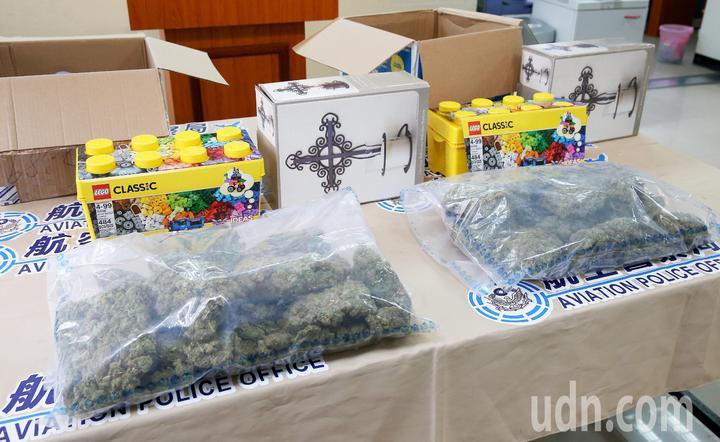 3名菲律賓籍移工ANNA、DIANA、FREDERICK不務正業,協助毒梟走私3256公克大麻花入境,被航警局、關務署台北關等緝毒單位緝獲法辦。 記者陳嘉寧/攝影